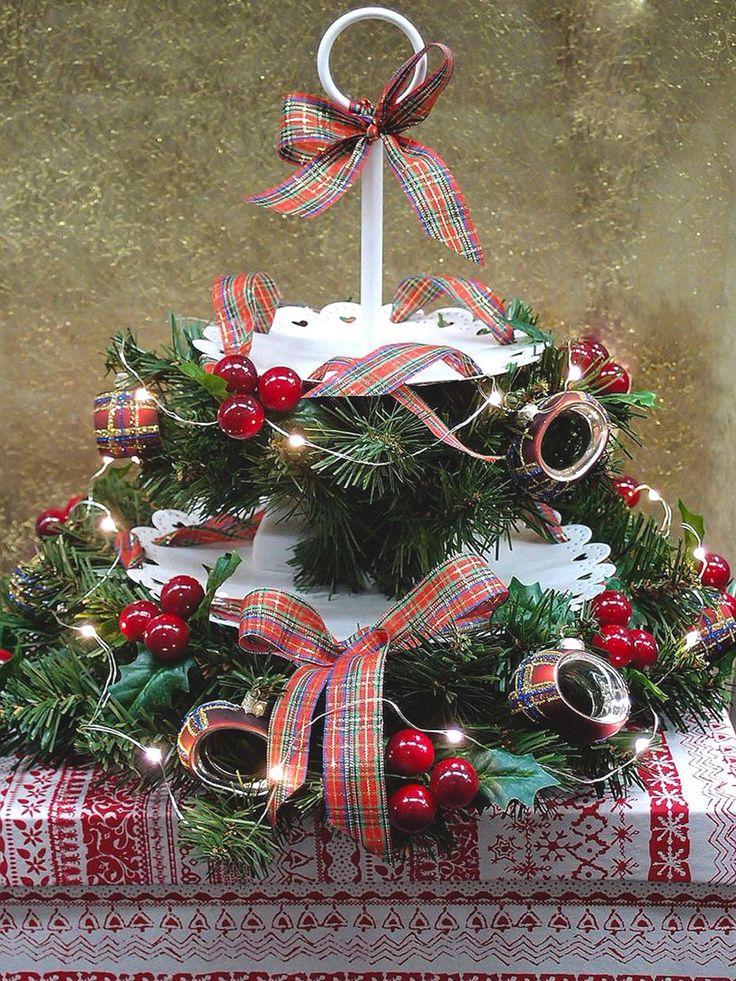 Oltre 1000 idee su centrotavola fai da te su pinterest - Centrotavola natalizio idee ...
