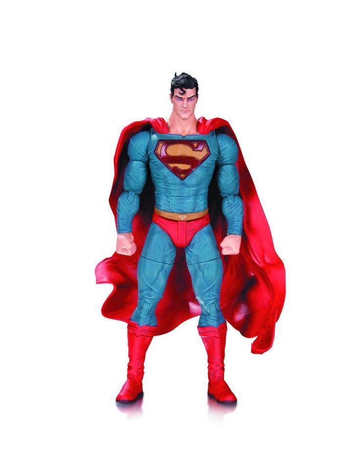 DC Comics Designer Series Superman Action Figure By Lee Bermejo  | eBay