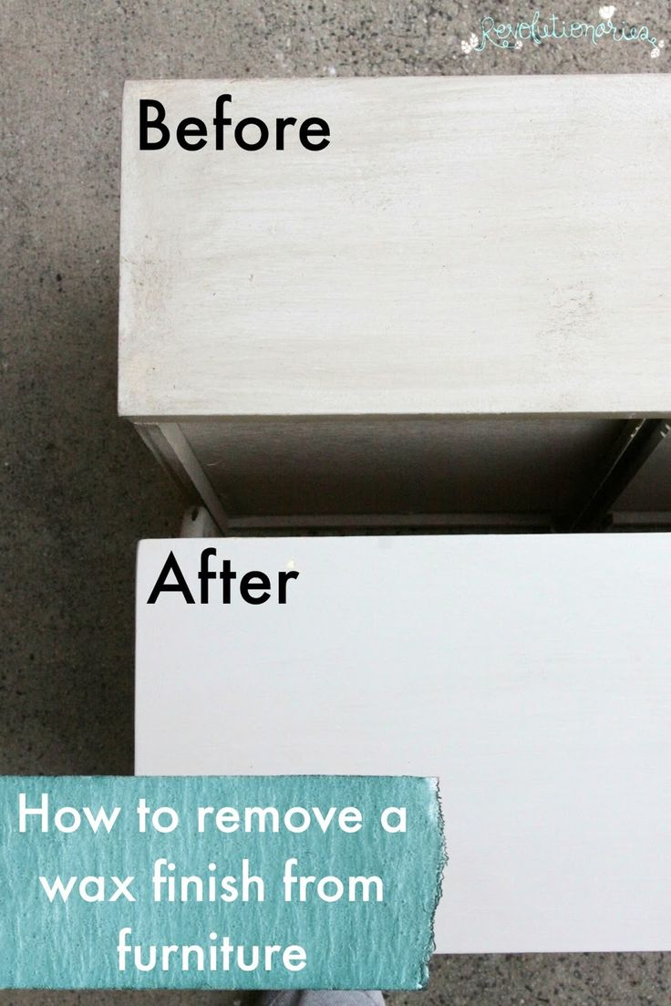 how to clean paint from furniture