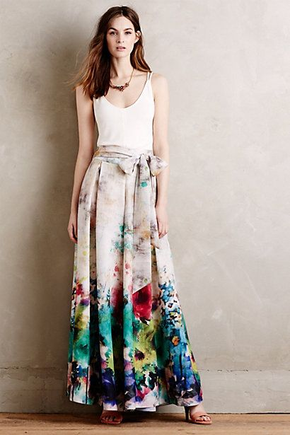 So I guess these are pants? Gorgeous. #anthropologie #floral