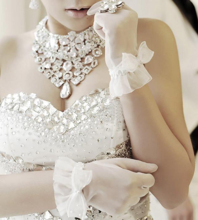 New Arrival Elegant Tulle Princess Wedding Dresses