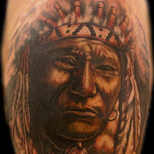 17 best ideas about indian chief tattoo on pinterest for Famous tattoos fort myers