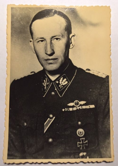 Old photograph of Reinhard Heydrich. (via helvihellstrom)