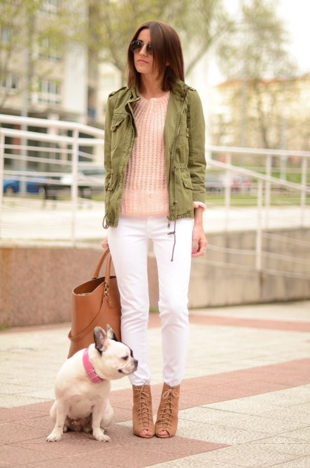 This utility jacket -- 55+ Fall Outfit Ideas - Page 2 of 2 - This Silly Girl's Life