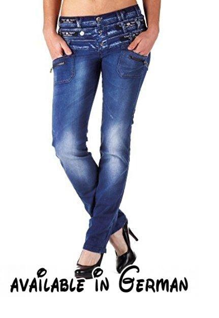 CIPO & BAXX Damen Jeans CBW-282 30/34.  #Apparel #PANTS