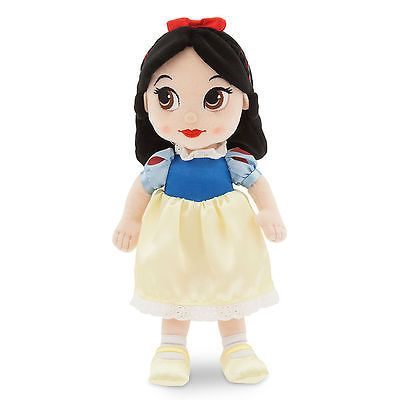 "﹩29.50. Disney Store Animators 13"" Princess Snow White & 7 Dwarfs Plush Toddler Doll    Type - Plush Stuffed  toy rag doll *Toddler size*, Character Family - Snow White  7 Dwarfs, Recommended Age Range - 3+, Gender - boys or girls, Character - Princess Snow White, Year - 2016, size - 13"" tall,"