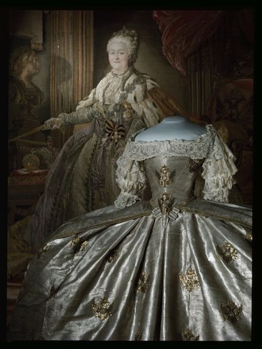 Empress Catherine The Great coronation gown