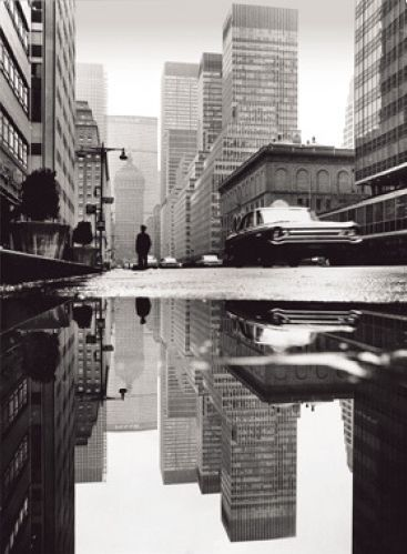 By Mario De Biasi, Park Avenue, New York, 1964