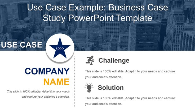 Use Case Powerpoint Slide Business Case Study Ppt Slide  Business