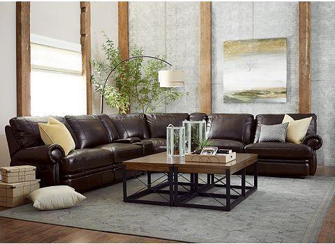 Bentley Sectional Sofa Havertys