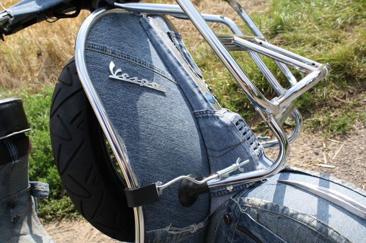 by derboor Jeans Vespa V50 Quattrini Engine 23 PS