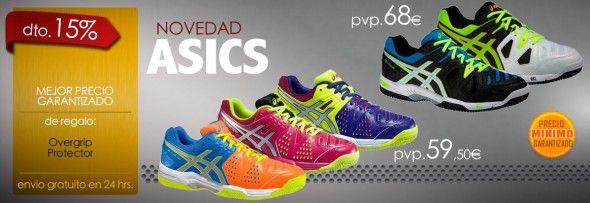 Nuevas Zapatillas de Padel Asics 2015