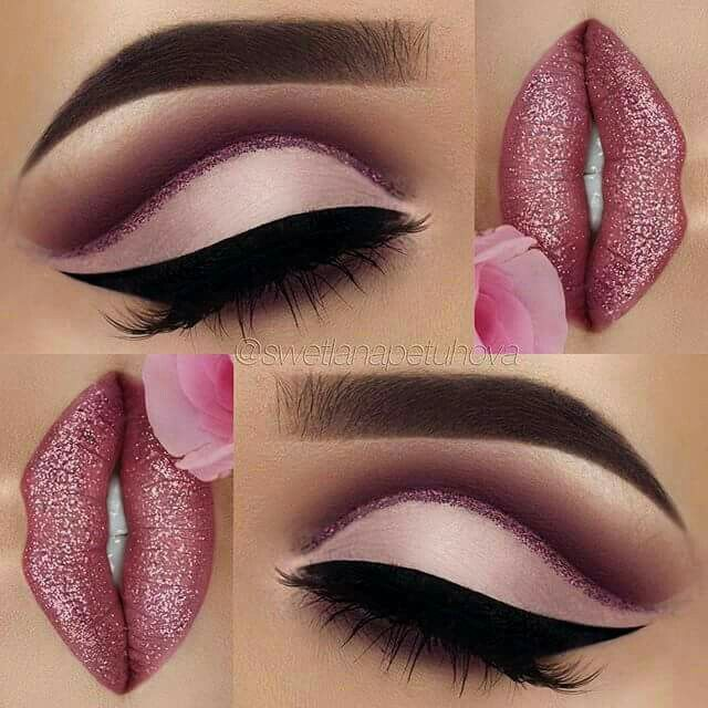 Love this look... for Valentine's!!