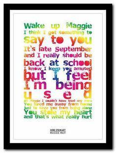 Maggie May-Rod Stewart