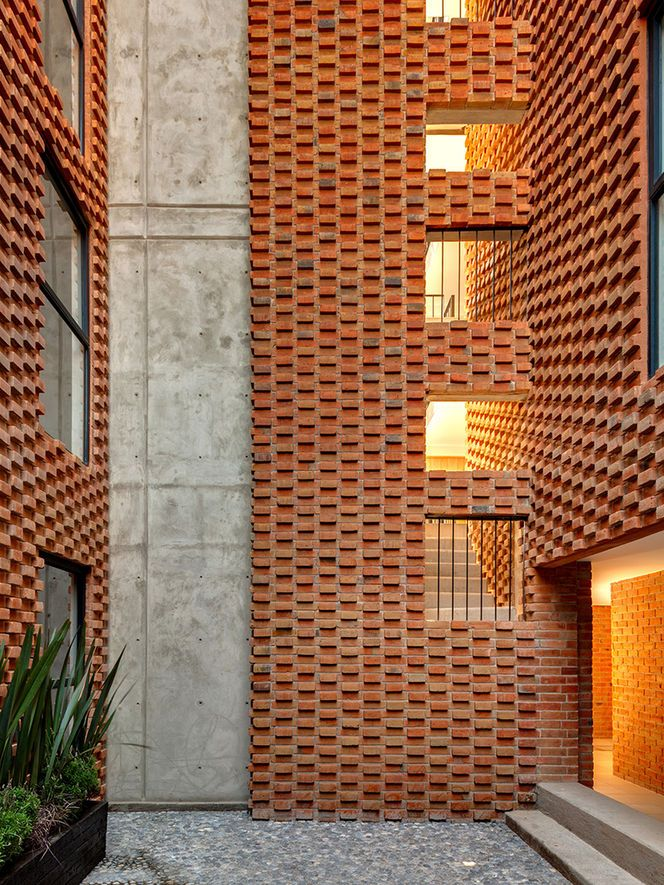 174 best images about textured wall on pinterest stone for Brick elevation design
