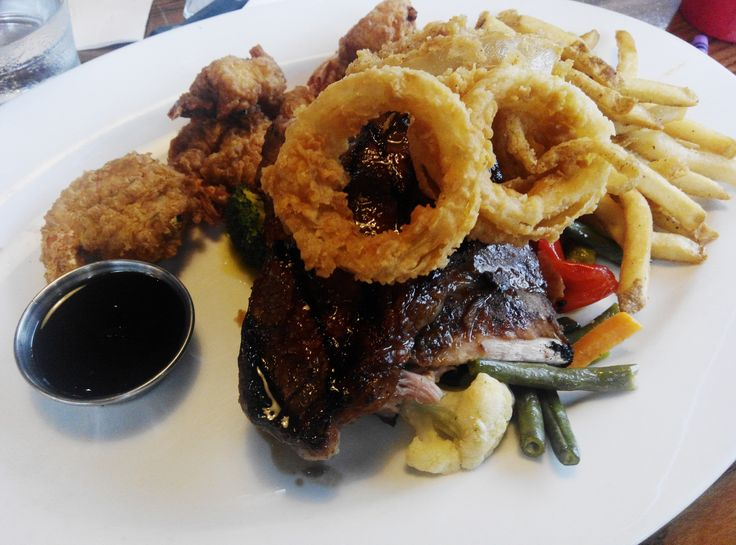 #TGIFridays #Ribs and #Seafood Platter