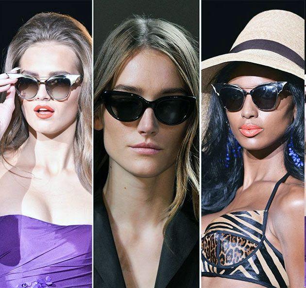 2015 ilkbahar yaz sezonu güneş gözlüğü modelleri vitrinlerde yerlerini aldı. Bu senenin güneş gözlüğü trendleri, 2015 aksesuar modasının 'abartı' felsefesine uymuş görünüyor. Kalın çerçeveler, gösterişli modeller, değişik tasarımlar dikkat çekiyor.