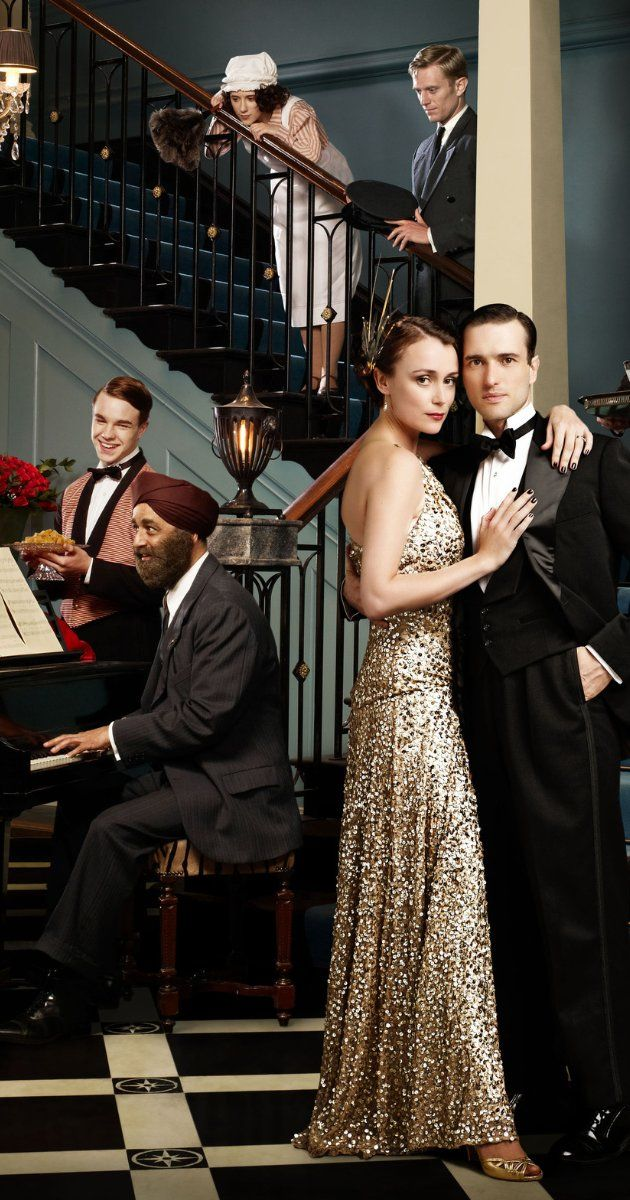"""""""Upstairs, Downstairs"""" [2010 - 2012]. A new family and their servants live at the London townhouse at 165 Eaton Place in 1936. Starred Keeley Hawes, Ed Stoppard, Adrian Scarborough, Neil Jackson, Anne Reid, Claire Foy, Art Malik. Jean Marsh, Alex Kingston, Eileen Atkins."""