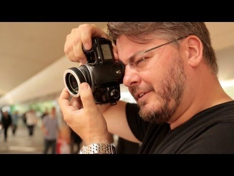 Pro photog + cheap camera : Vincent Laforet, Cheap Camera (Lens) Challenge: tilt shift lens expert, uses a lens baby+35mm film instead of canon1dxmk3....
