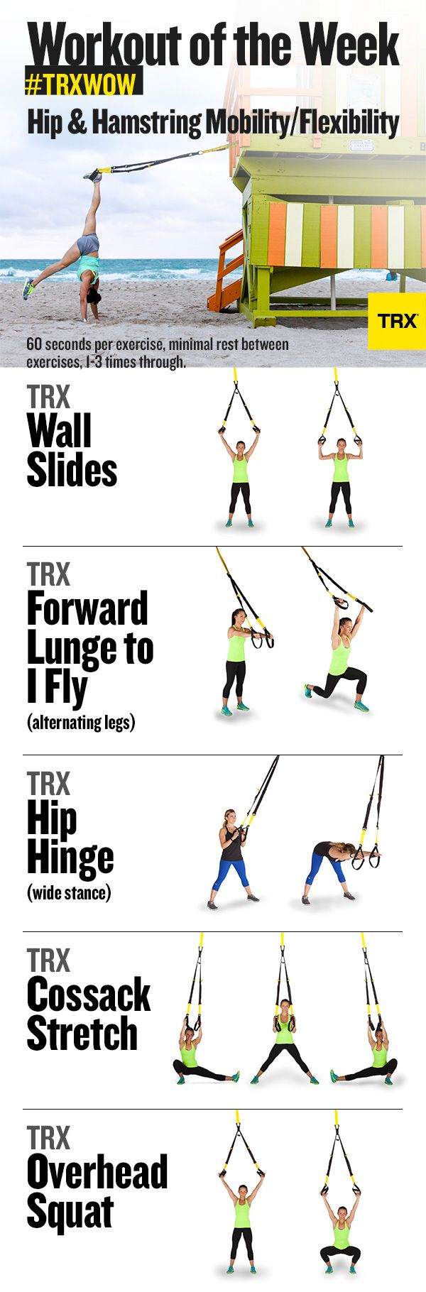 Hip Mobility and Hamstring Stretches: Summer Salutation Series Week One | TRX