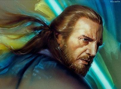 Star Wars - Qui-Gon - John Alvin - World-Wide-Art.com