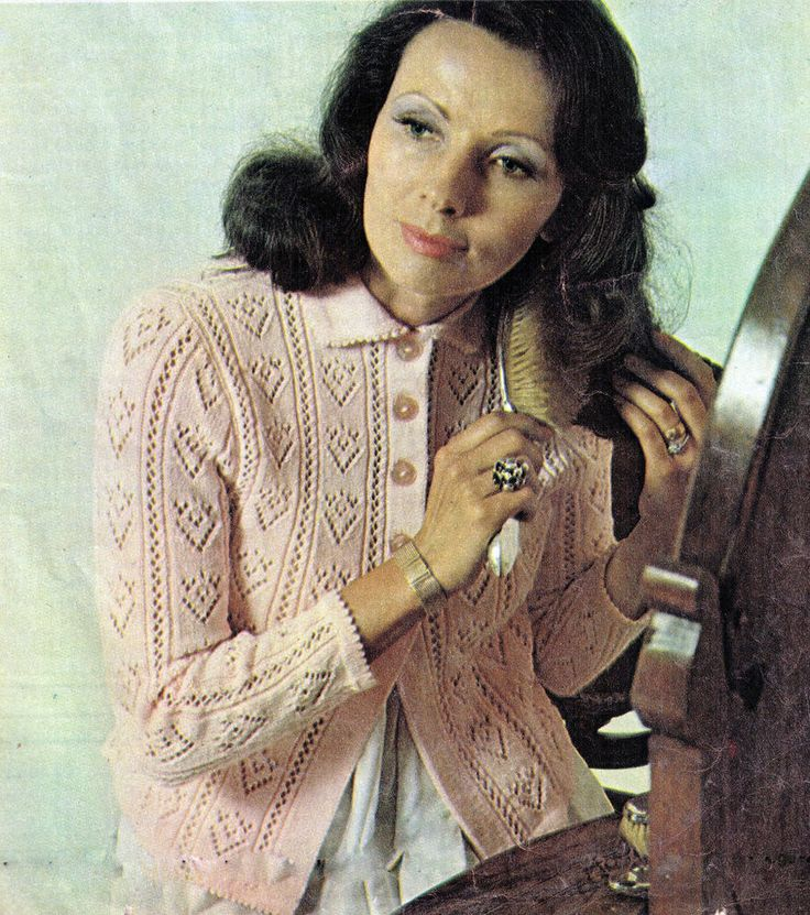 VINTAGE WOMENS LACY STITCHED BUTTONED BED CAPE JACKET NANA 4PLY KNITTING PATTERN