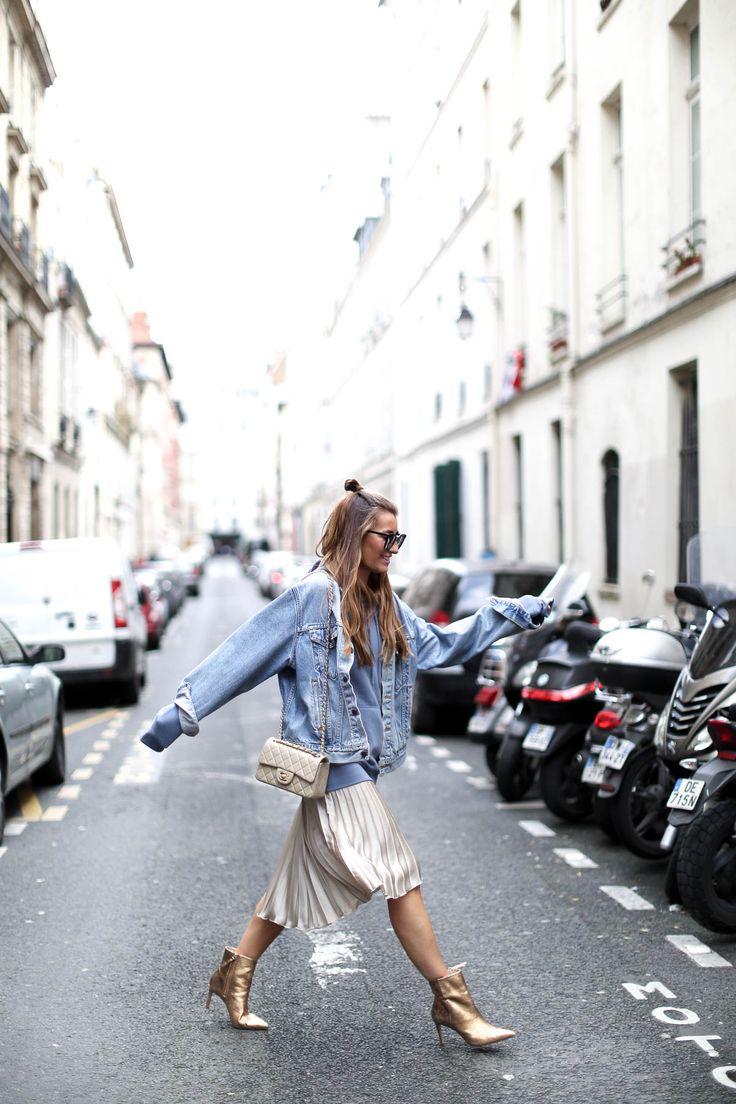 GOLD X DENIM IN PARIS
