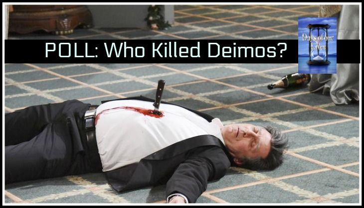 """One thing's certain: J.J. Deveraux (Casey Moss) is in the clear for killing Deimos Kiriakis (Vincent Irizarry) on """"Days of Our Lives."""" Why? Because he's the one who's been arrested for the crime! Every soap opera fan knows that the person arrested for a crime couldn't possibly have done it, it's cal"""