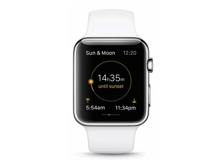 The Weather Channel Apple Watch OS app / FΛNTΛSY