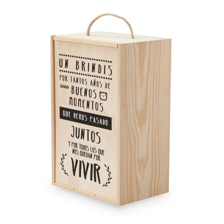 Vino personalizado Caja 1 Botella Por tantos momentos | Etiqueta tu...
