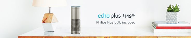 Echo and Alexa devices let you voice-control thousands of different smart home devices such as lights, switches, TVs, thermostats and more from over 1,200 unique brands.    You can now talk to Alexa on a growing number of products built by the brands you know and love.    Alexa lives in the cloud so it's always getting smarter, and updates are delivered automatically.     Amazon Associates Affiliate   Echo Plus