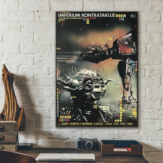 Plakat Star Wars V epizod - edycja limitowana