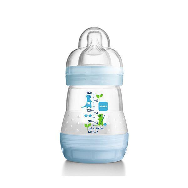 Mamadera anticólicos modelo niño. 160 ml  http://www.babytuto.com/productos/lactancia-mamaderas-mamaderas-de-plastico,mamadera-anticolicos-modelo-nino-160-ml,15588