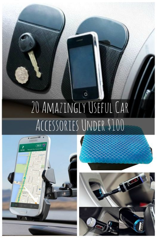 20 Amazingly Useful Car Accessories for Under $100. These could change your life. NOW.
