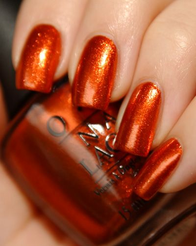 O.P.I Burnt Orange  --  -- @ Beauty Arts Jasmin, Kosmetikstudio in Zürich, kannst du dir den neuesten Look holen: http://www.beautyarts.ch/produkte/o-p-i/ --OPI Take the Stage