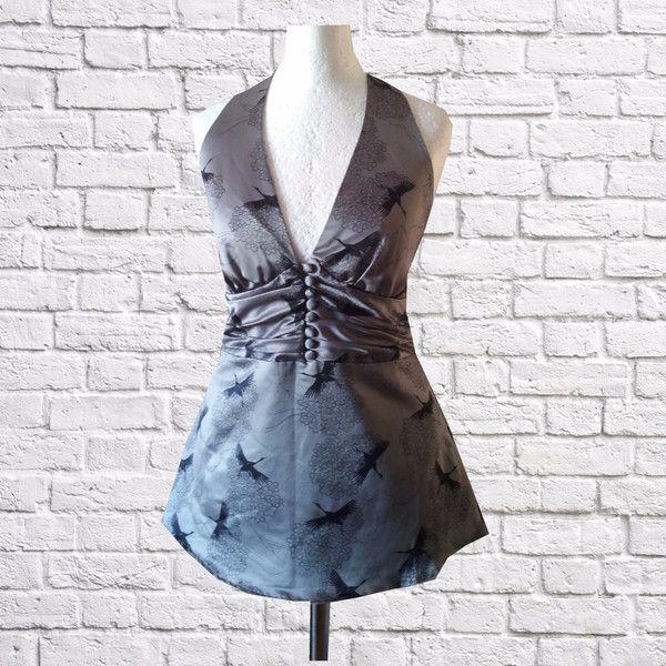 Abendkleider - S Top Art Deco Gothic Industrial Retro Vintage  - ein Designerstück von Black-Cherrys-Store bei DaWanda
