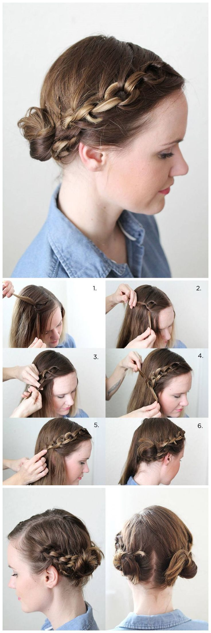 Hair Tutorial: How to do A Cute Chain Braid