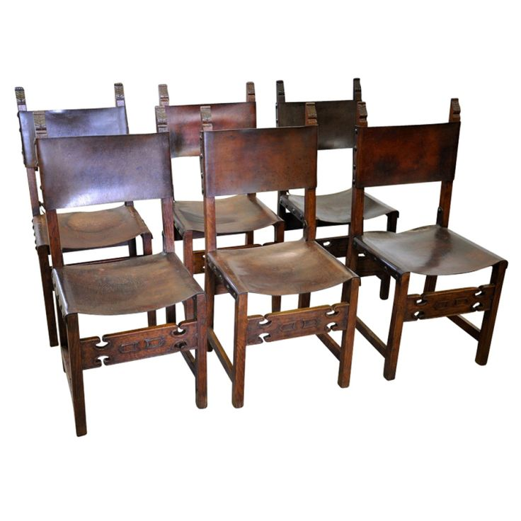 25 best ideas about leather dining room chairs on