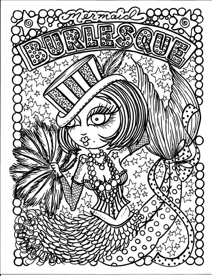 Burlesque Mermaid Myth Mythical