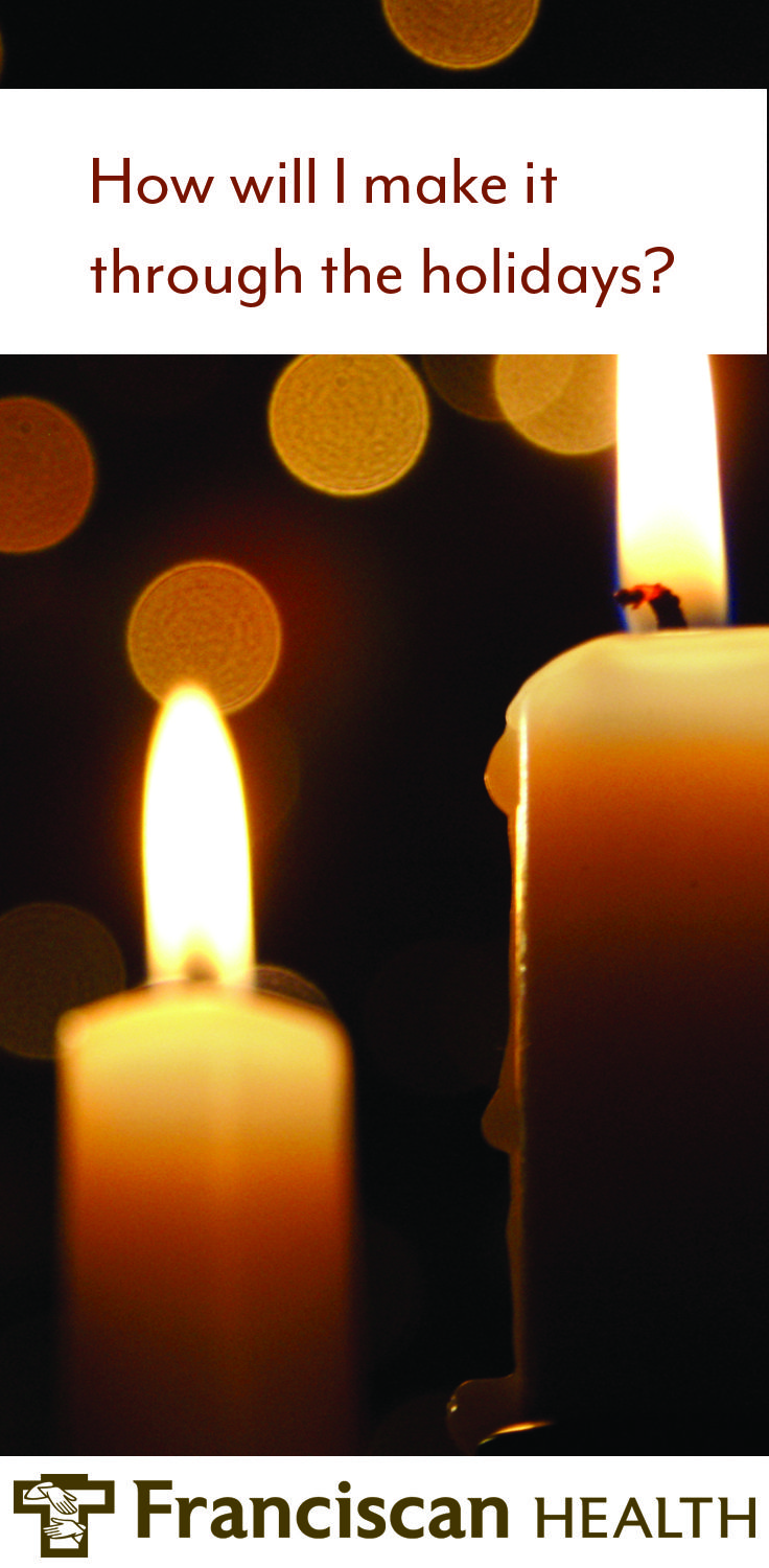 """Thanksgiving, Hanukkah, Christmas, Kwanzaa and New Year's Eve are supposed to be """"happy"""" times.    Happy may not be what you feel, however, when your heart is broken.  For families grieving the loss of a child, the holiday season may feel particularly painful. Joni Cutshaw, bereavement coordinator for the Memories to Hold program at Franciscan Health Indianapolis, shares tips for families for navigating the winter holidays and events."""