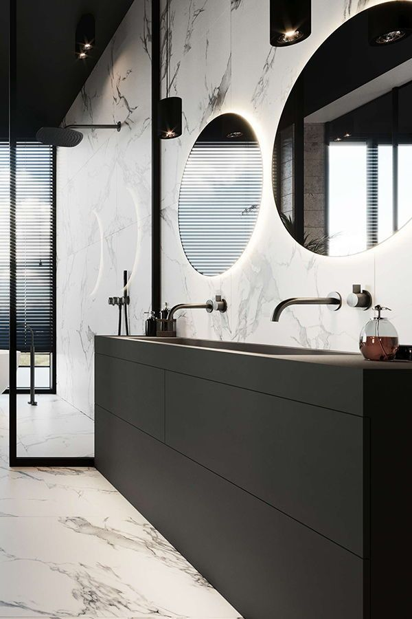 Newest Absolutely Free Contemporary Bathroom Marble Popular Adore