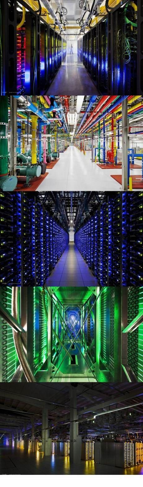 Google Data Center Purchase Cabling  at www.ModernEnterprise.com