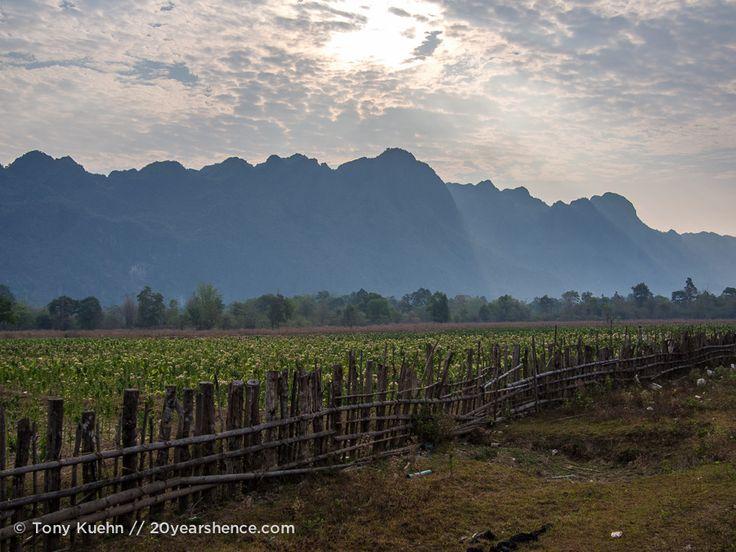 Loop De Loop in Thakhek - traveling by motorcycle around Laos and to the Kong Lor Cave.