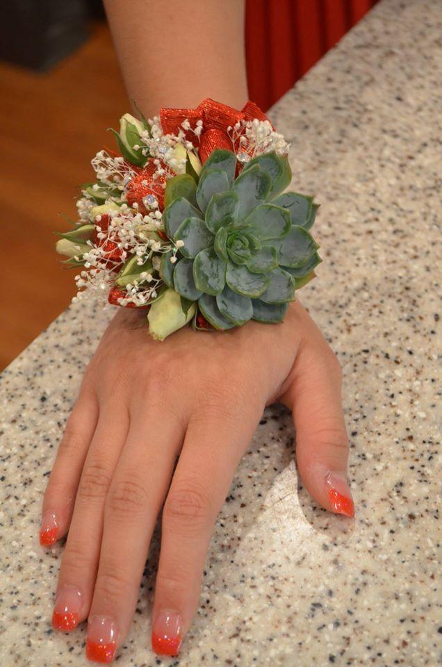 Trending: Succulent Corsages