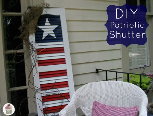 It's time to bust out your patriotic decor—we're talking all that is red, white & blue. Here are 12 DIY ideas for infusing your home with patriotism.