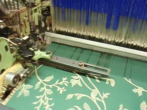 Ukázka tkaní kvality SALOME Fabric from SALOME collection weaving