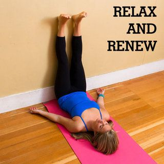 Restorative Yoga Sequence for End of Day Stress Relief [ SkinnyFoxDetox.com ] #fitness #skinny #health