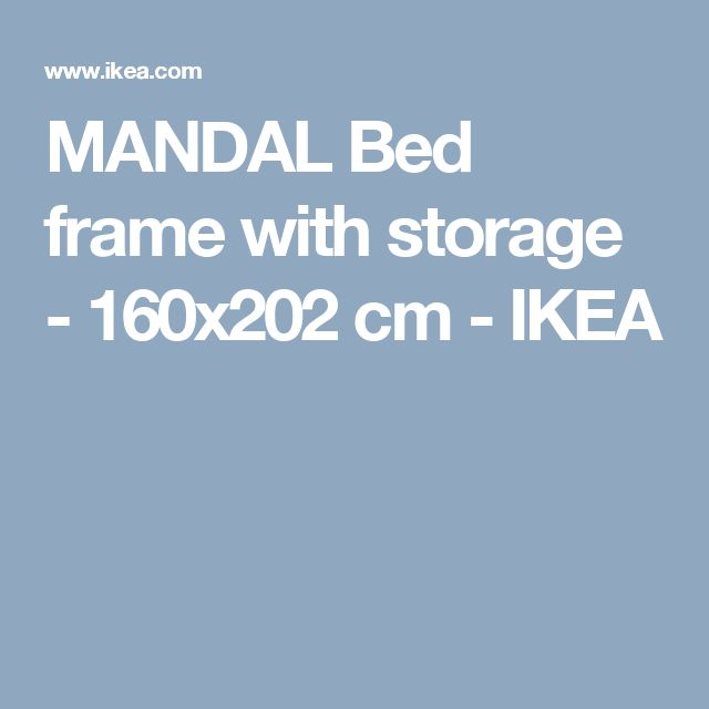 Malm Dressing Table Ikea Review ~ ideas about Bed Frame With Storage on Pinterest  Bed Frames, Diy Bed