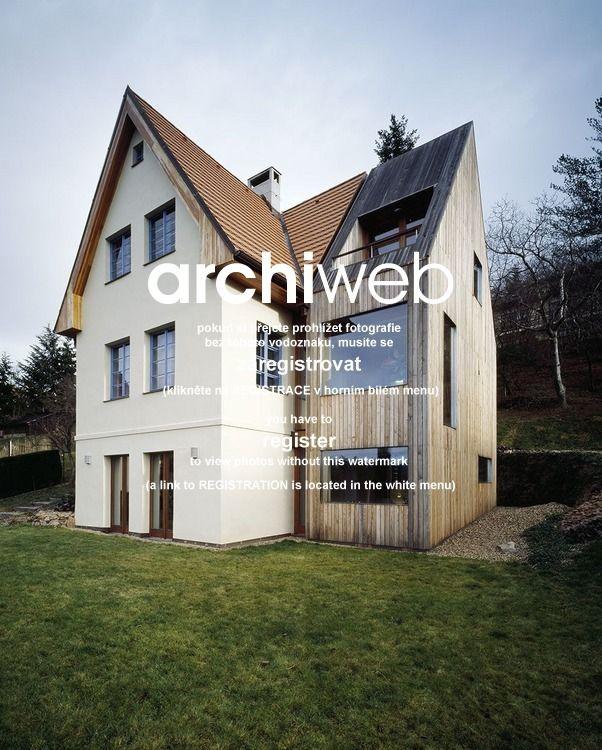 archiweb.cz - Rekonstrukce a přístavba rodinného domu ve Všenorech