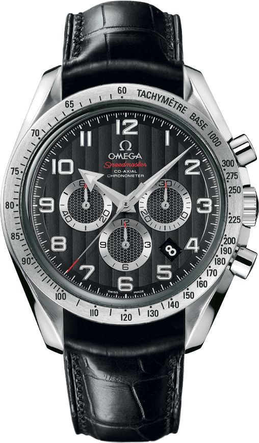 321.13.44.50.01.001  NEW OMEGA SPEEDMASTER BROAD ARROW CO-AXIAL CHRONOGRAPH MENS AUTOMATIC WATCH  IN STOCK - Click to View Mother's Day Luxury Watch Sales Event   - FREE Overnight Shipping | Lowest Price Guaranteed    - No Sales Tax (Outside California) - With Manufacturer Serial Numbers - Black Dial - Date Feature - Chronograph Feature - Tachymeter Scale Feature - 52 Hour Power Reserve - Self Winding Automatic Co-Axial Movement - Omega Caliber 3313 - 5 Year Warranty - Guaranteed Authentic…